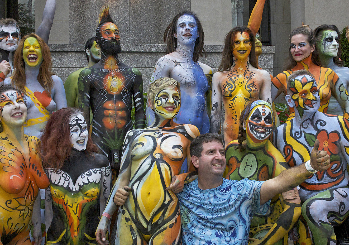 12 Reasons To Love Nudity And Celebrate NYC Bodypainting